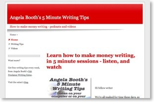 5 Minute Writing Tips